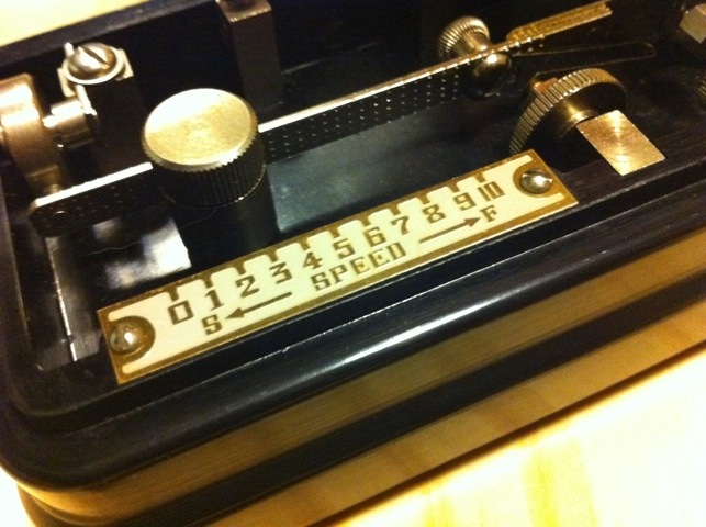 Semi-Automatic Morse-Key BK-100 Radio Hi-Mound Shizuoka
