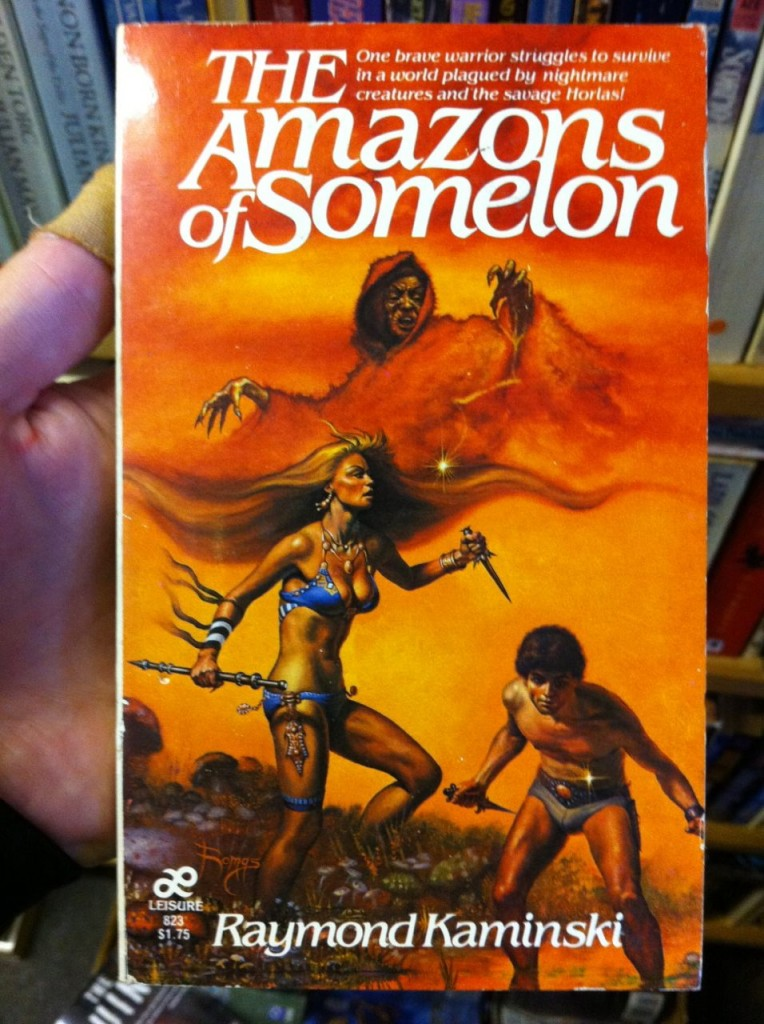 The Amazons of Somelon by Raymond Kaminski