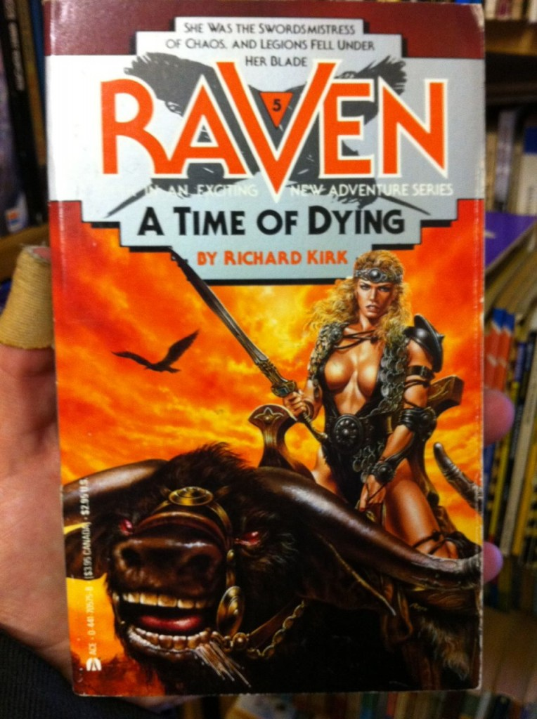 Raven: A Time Of Dying by Richard Kirk