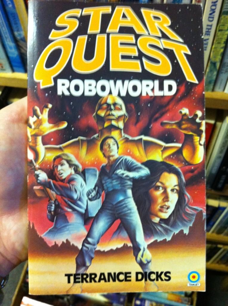 Star Quest Roboworld by Terrance Dicks