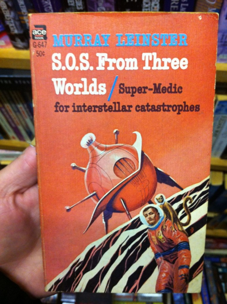 S.O.S From Three Worlds by Murray Leinster