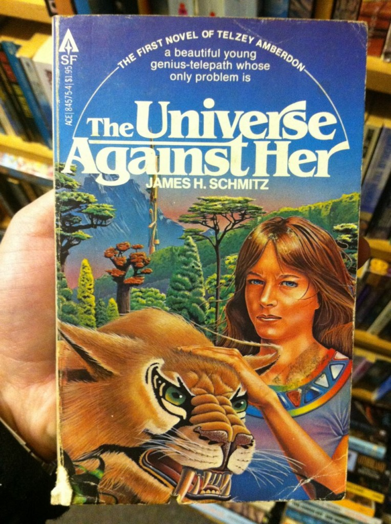 The Universe Against Her by James H Schmitz