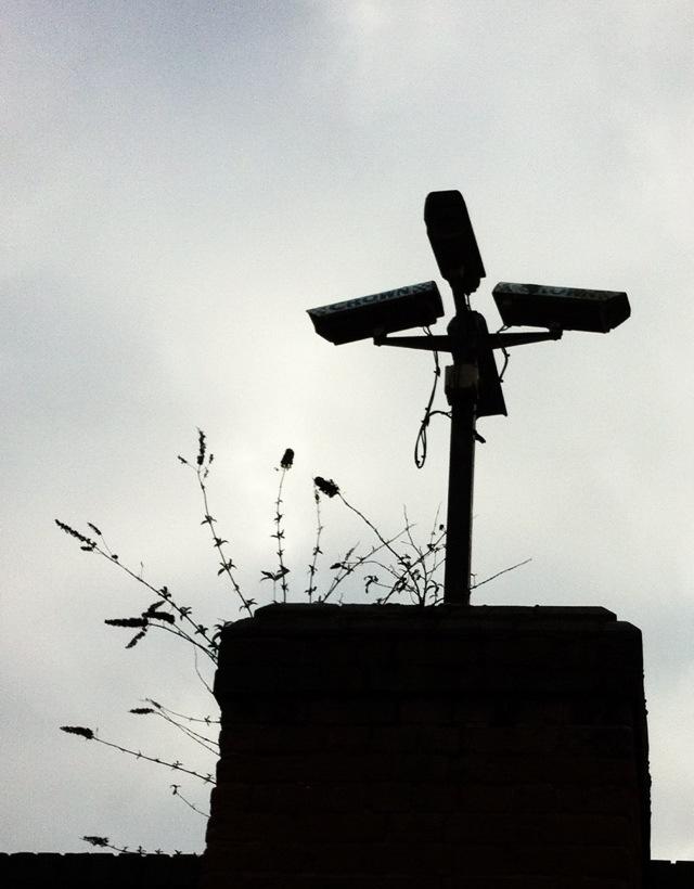 Four CCTV cameras at Woodthorpe Park Nottingham