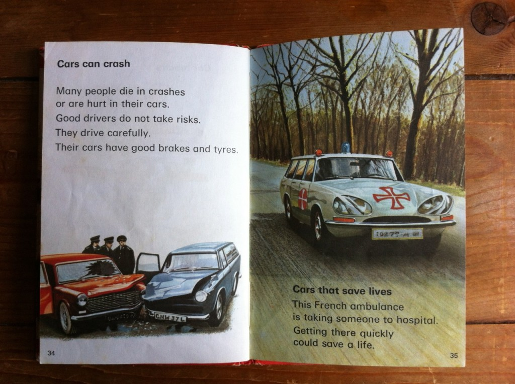 From The Children S Book Man And His Car 1974 Thom S Blog