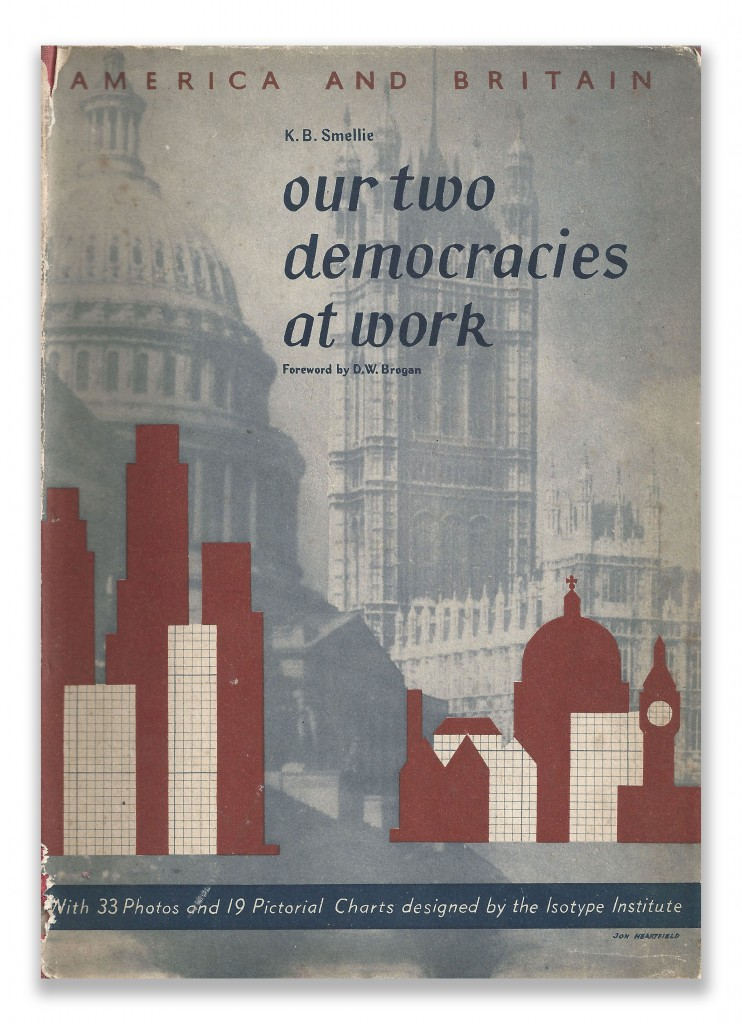 Cover Our Two Democracies At Work by K B Smellie