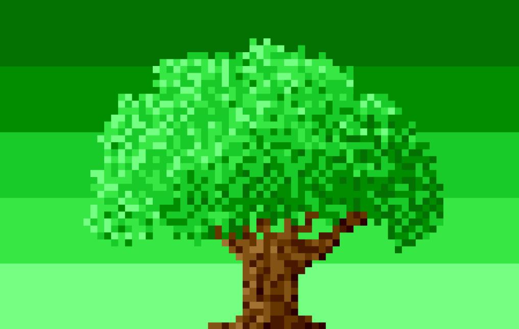8-Bit Tree Logo